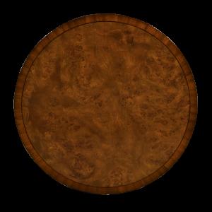 33032 - round central cabinet burl em sfd4
