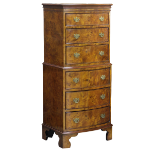 33474 cest 6 drawers burl bs - sfd2
