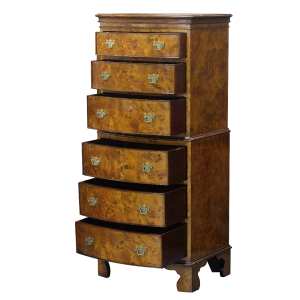 33474 cest 6 drawers burl bs - sfd3