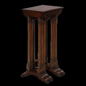 33223 - table set nesting set of 4 adam quarto burl top em sfd2