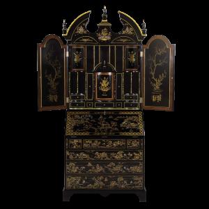 34420 - secretary desk chinoiserie