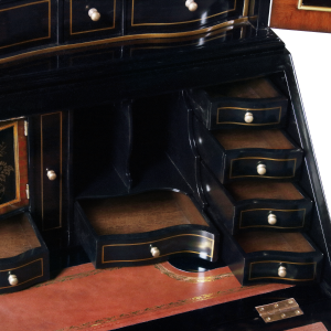 34420 - secretary desk chinoiserie chinoiserie black sfd6