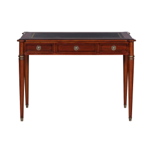 33509l - directoire writing desk leather top mlsp blk sfd1 1