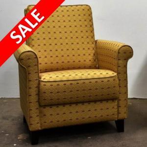 fauteuil stof Queen DN Design sale