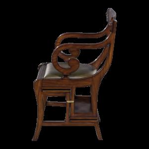 33196 - english regency library chair em agrn sfd3 1