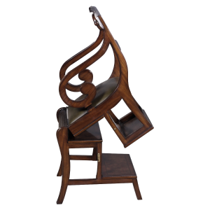 33196 - english regency library chair em agrn sfd4 1