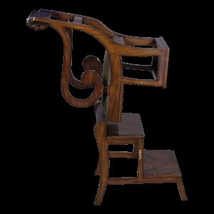 33196 - english regency library chair em agrn sfd5 1
