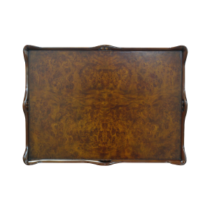 33446 - tea table with tray burl em sfd5