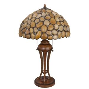 Tiffany tafelamp steen 5LL-5709
