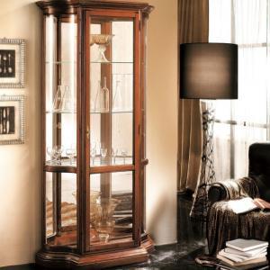 Vitrinekast Klassieke meubels kersen  80