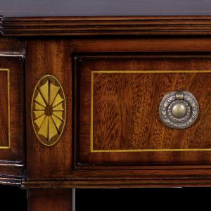 33074 - magohany wall console em sfd6