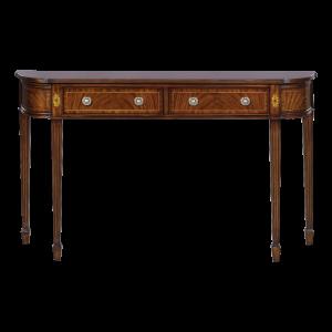 33640 - mahogany wall console large em sfd1