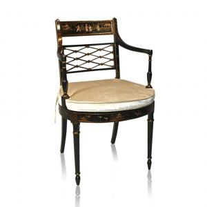 33460 2 Chinoiserie Side Chair Chinoiserie