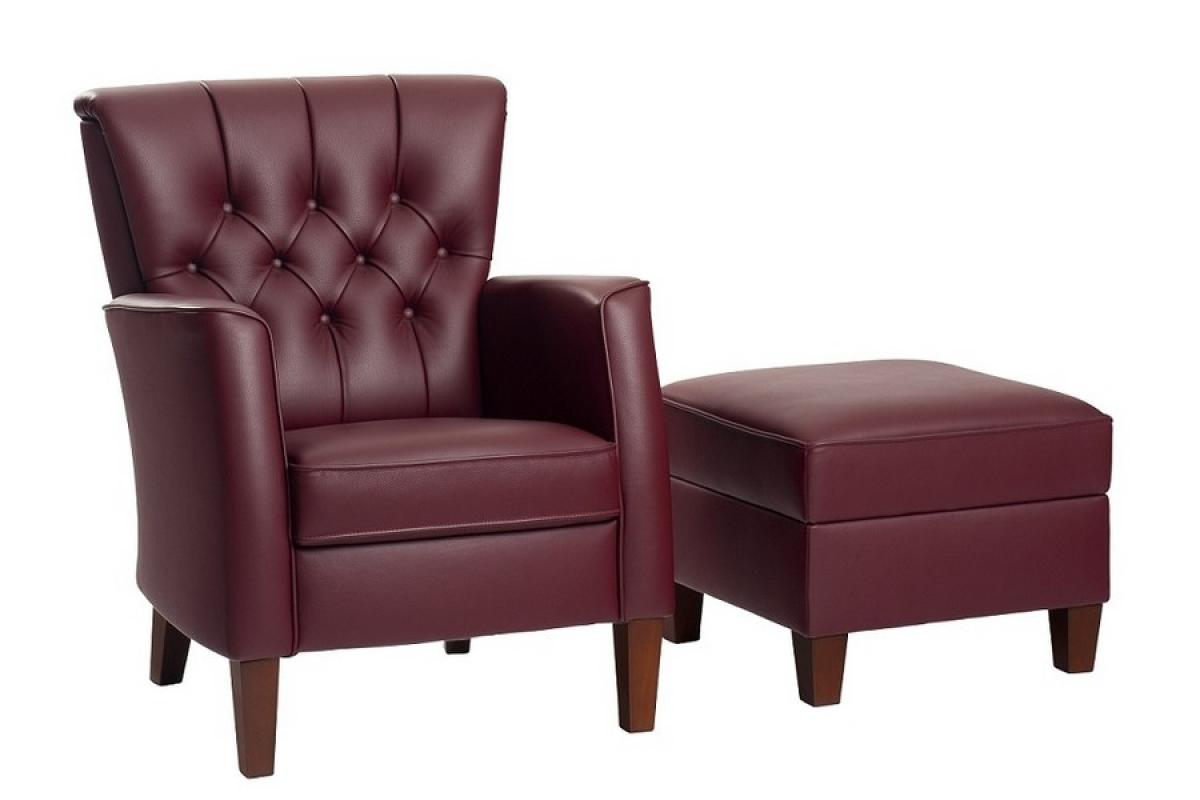 klassiek gecapitoneerde fauteuil Rousset Vidato