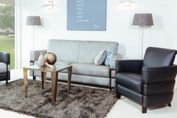 Tijdloos klassieke bank sof of leer Cadiz DN Design
