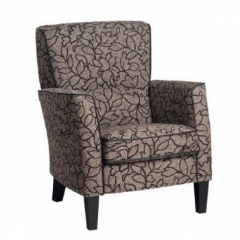 klassieke fauteuil in stof