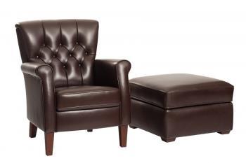 klassiek gecapitoneerde fauteuil Peronne Vidato