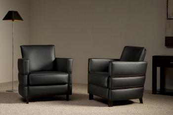 kleine klassieke fauteuil art deco Cadiz